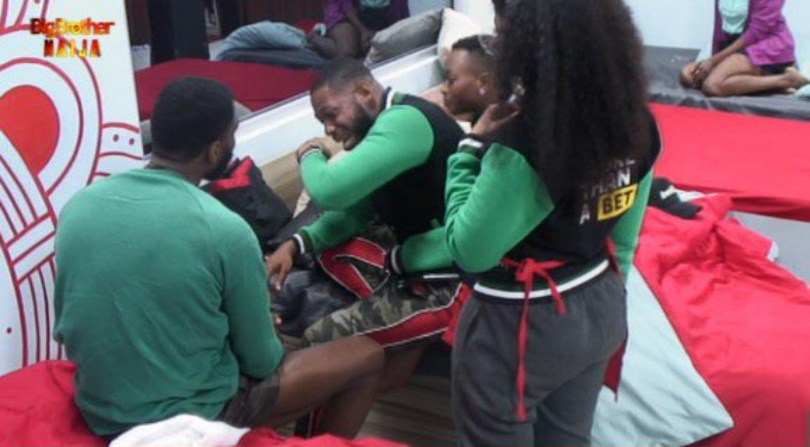 BB Naija 2019: Day 2: Watch Frodd And Omashola Breakdown In Tears Over Their Audition Experiences
