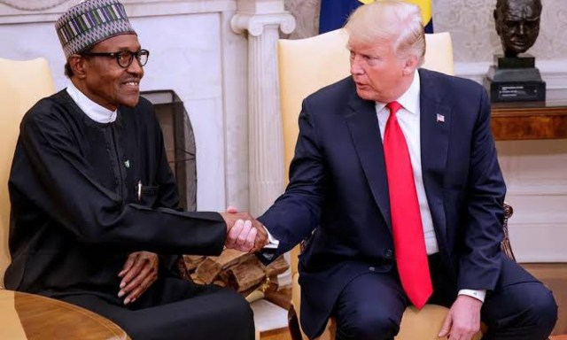 Donald Trump sends letter to President Buhari to mark Nigeria at 59