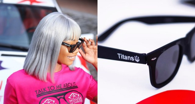 House of Lunettes releases customized Tacha sunglasses tagged Titans