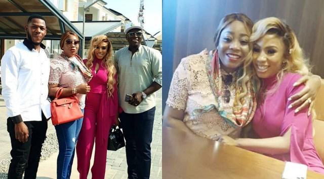 Real Estate Tycoon Ned Okonkwo and wife gift BBNaija's Mercy, Frodd N4.6m cash