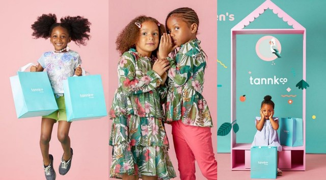 Rudeboy Psquare and wife Anita launches children's apparel store, Tannkco