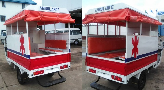 Innoson Company releases Tricycle Ambulance for quick emergency response; Nigerians react