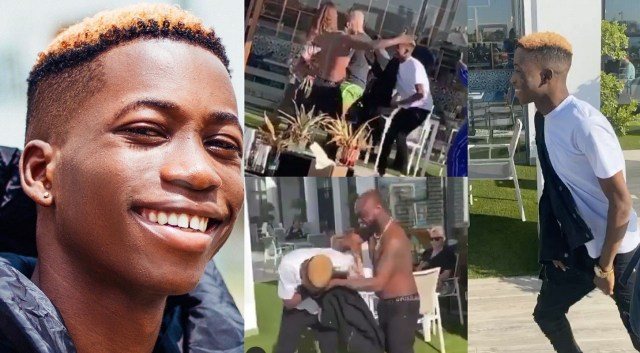 I love you Dad – DMW new signee Lil Frosh tells Davido who invited him to Dubai