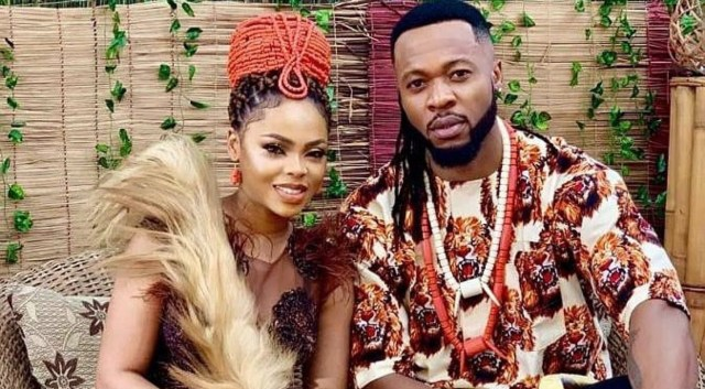 Chidinma stop worrying our head, give us date – OAP Do2dtun says about her picture with Flavour