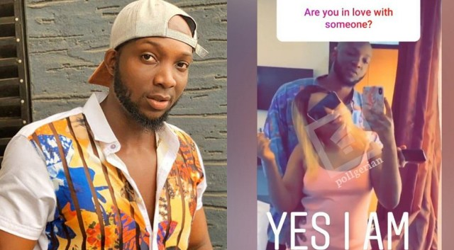 BBNaija's Tuoyo shows off his girlfriend, says he's in a committed relationship