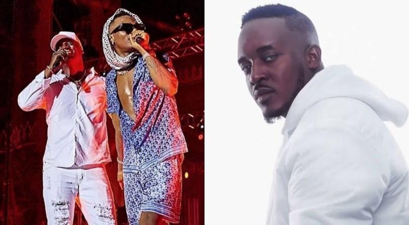 Nigerians lash out at M.I for cautioning music star, Akon from calling Wizkid little brother