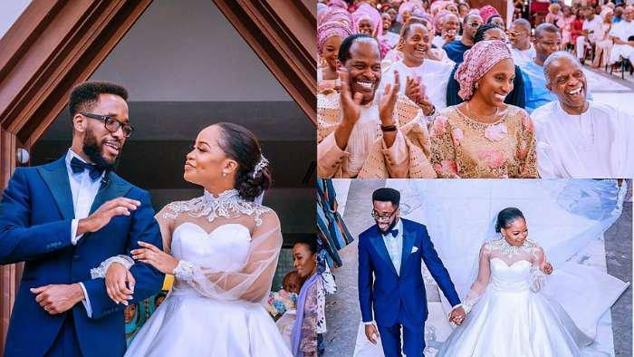 Vice Pres. Yemi Osinbajo's son, Laolu marries his heartthrob