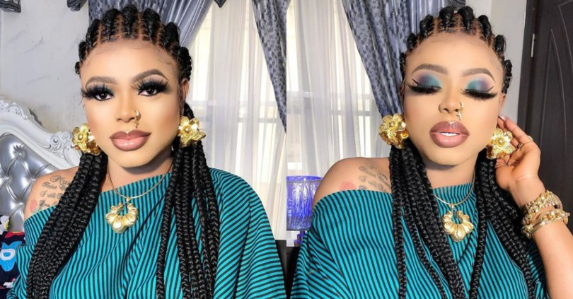 """If You See Your Husband With Me, And You Come To Me, I'll Beat You Even Hospital Will Reject You I Swear"" – Bobrisky Has A Word For Side Chick Beaters"