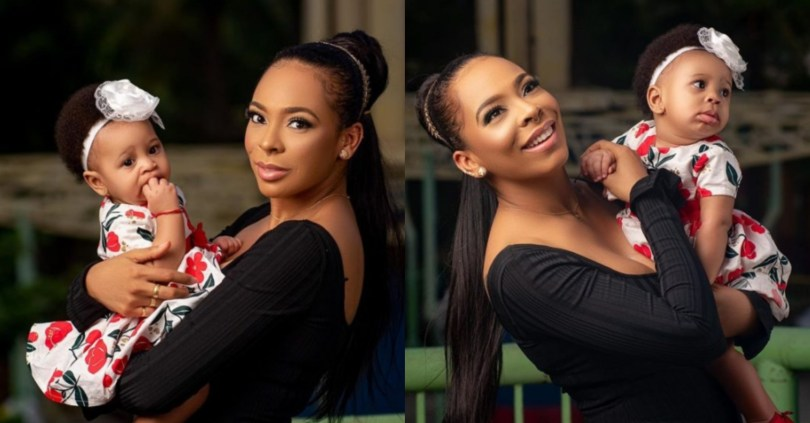 Proud Mum, BBNaija's Tboss Shares Lovely Photos Of Her Daughter, Showers Her With Prayers
