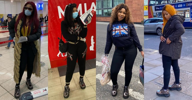 """Na only one shoe you carry go U.K?"" – Man mocks BBNaija's Tacha for wearing same shoes on 4 occasions"