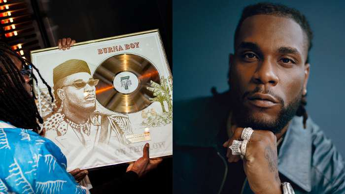 Burna Boy's 2019 song, 'On The Low' goes Gold in France after 15 million streams