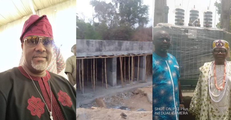 Despite not being a serving senator, Dino Melaye executes free projects for his constituency