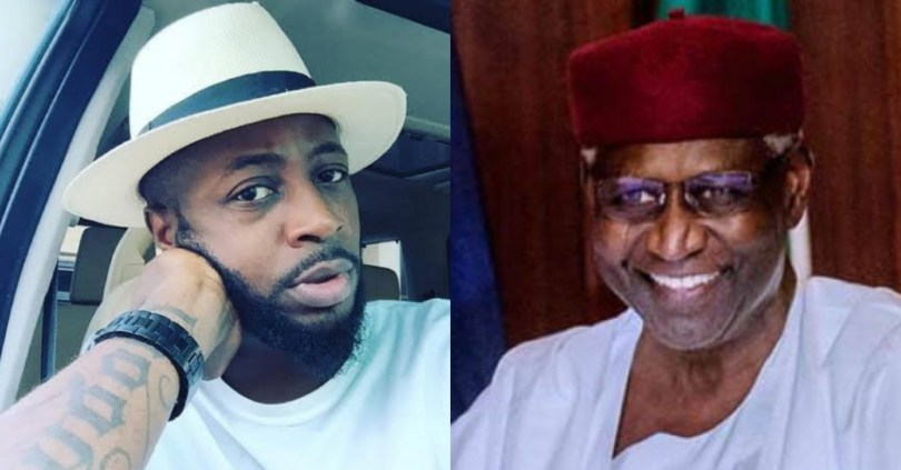 """""""You may not even live up to 82"""" – Tunde Ednut warns Nigerians celebrating Abba Kyari's death"""