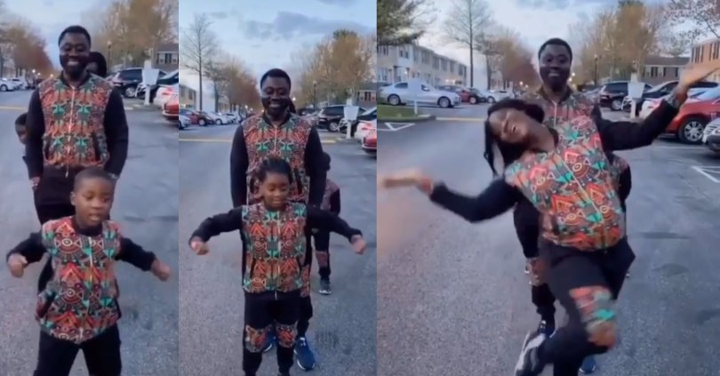 Mercy Johnson and her family melt hearts as they slay in new Tik Tok video