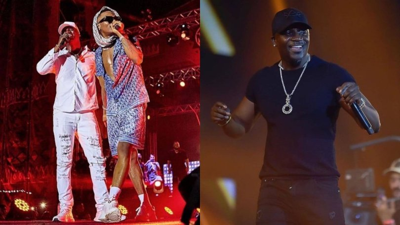 Akon finally announces new track with Wizkid is coming real soon