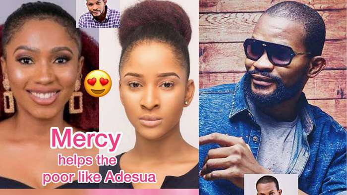 """""""Everything Mercy touches turns to gold cos she helps the poor like Adesua Etomi"""" – Uche Maduagwu"""
