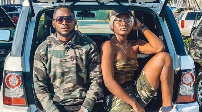BBNaija stars, Miracle and Alex rock army camo as they send Easter blessings to fans