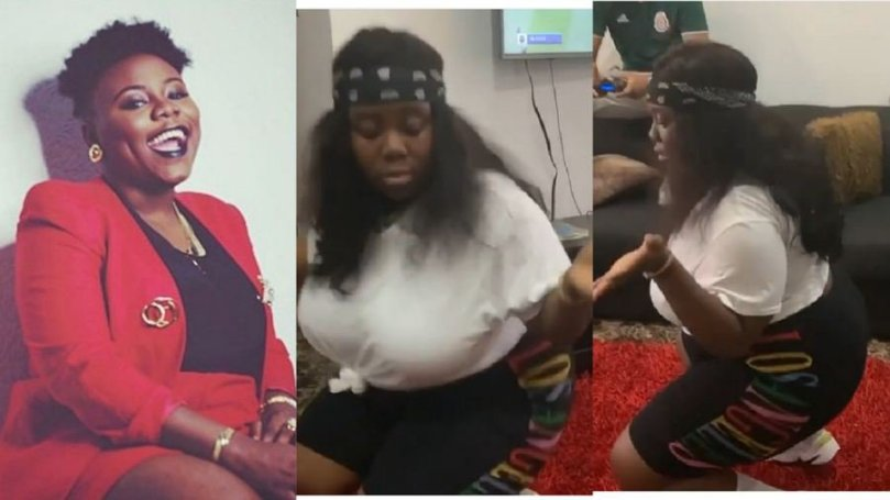 For the very first time, singer Teni twerks in public, calls herself the sexiest (video)