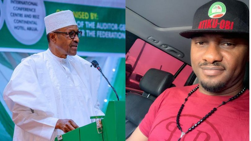 Speak to Nigerians from your heart, don't read from paper – Yul Edochie tells Buhari