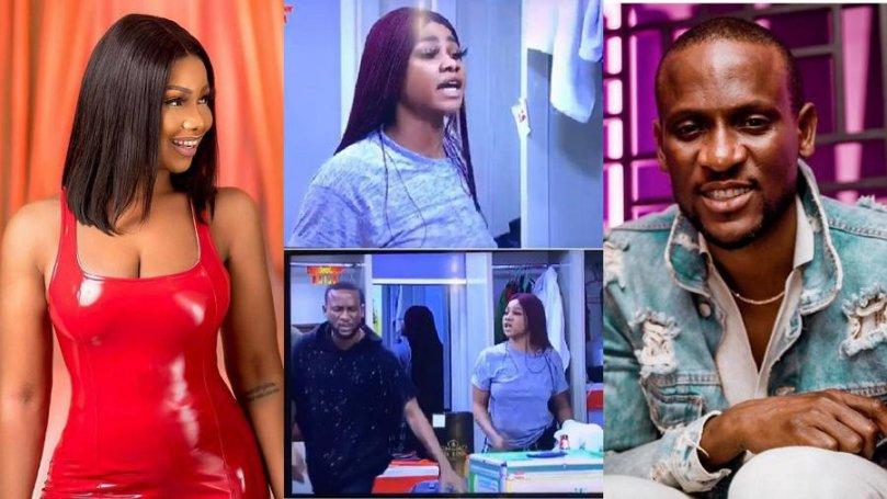 'You like wahala' – Tacha tells Omashola after he shared throwback video of their quarrel in BBNaija 2019