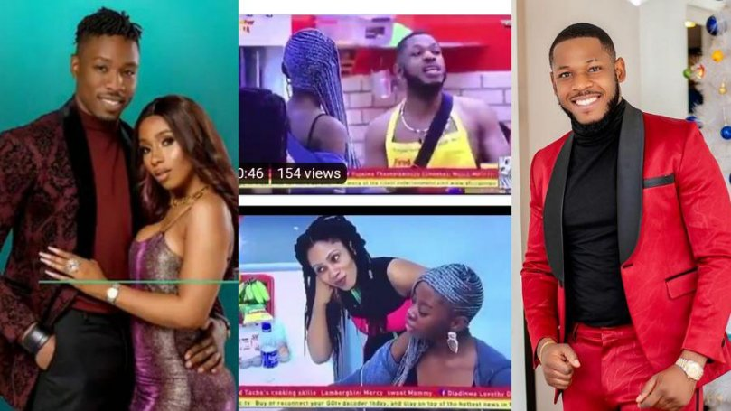 WOW! See video when Frodd prophesied great things over Mercy and Ike in BBNaija 2019