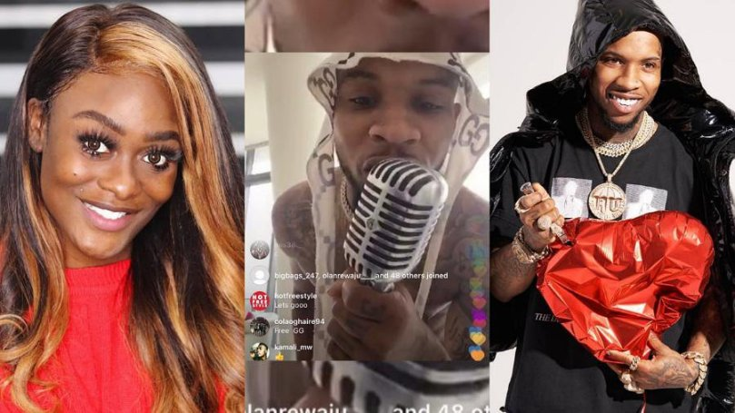 BBNaija Uriel turns Tory Lanez Instalive into worship center, sings in her dialect, Igbo