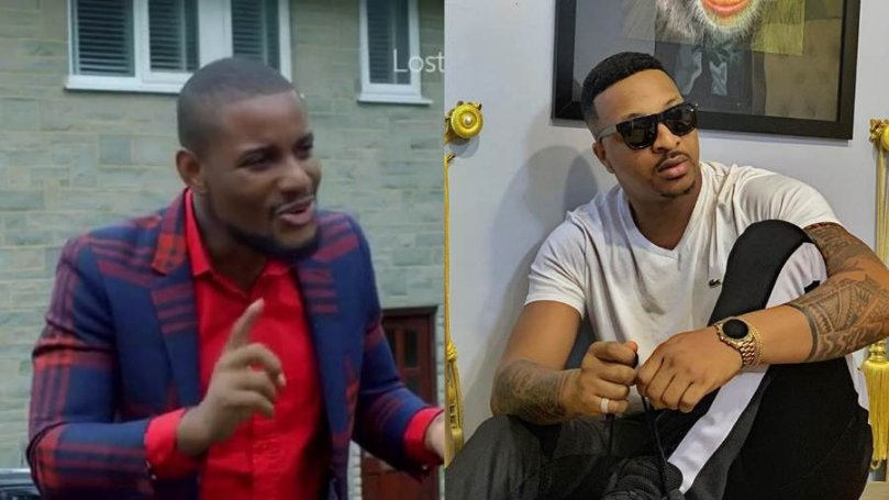 'The gods are angry, that's why your wig is producing gray hairs' – Alexx Ekubo blasts IK Ogbonna