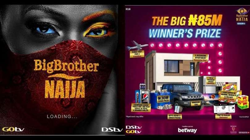 BBNaija season 5 winner will walk away with N85m worth of prizes – says MultiChoice