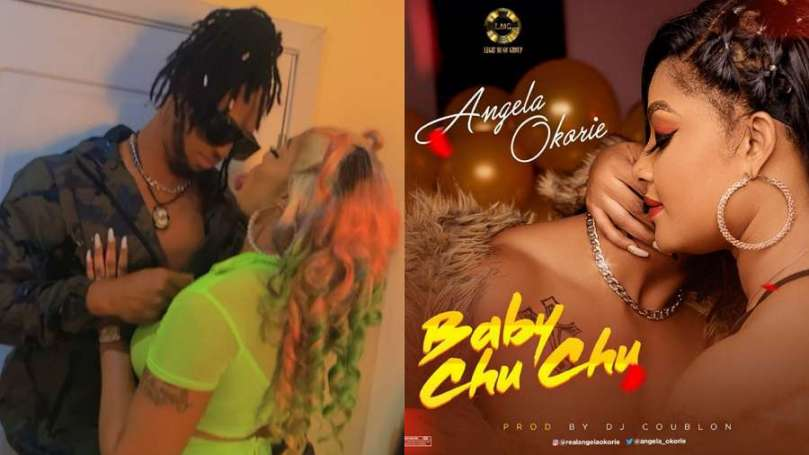 Actress Angela Okorie dedicates new song to her fiance ChuChu