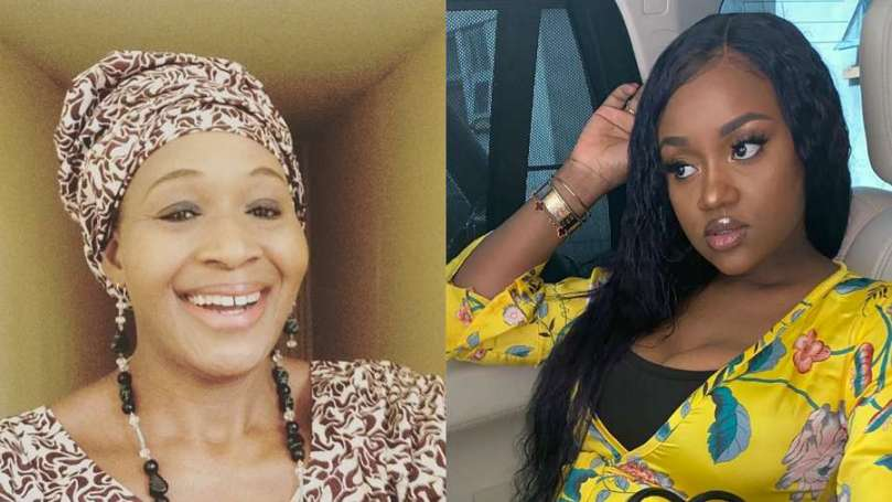 Kemi Olunloyo reacts after Davido's fiancee Chioma threatens to arrest her