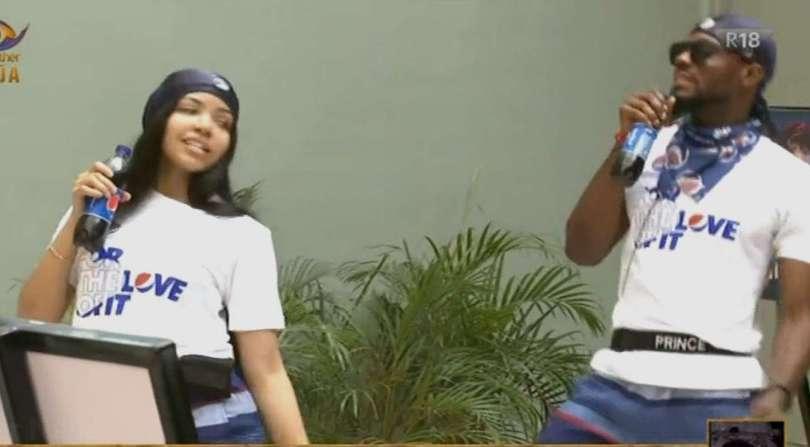 BBNaija: Pepsi compensate Prince, Nengi of Team Tiwa Savage after fans' outcry