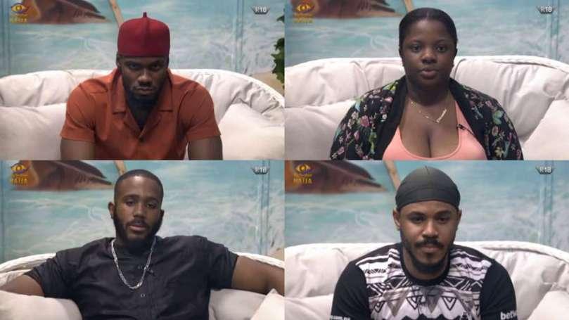 BBNaija: Ozo, Dorathy, Prince, Kiddwaya up for possible eviction in week 8