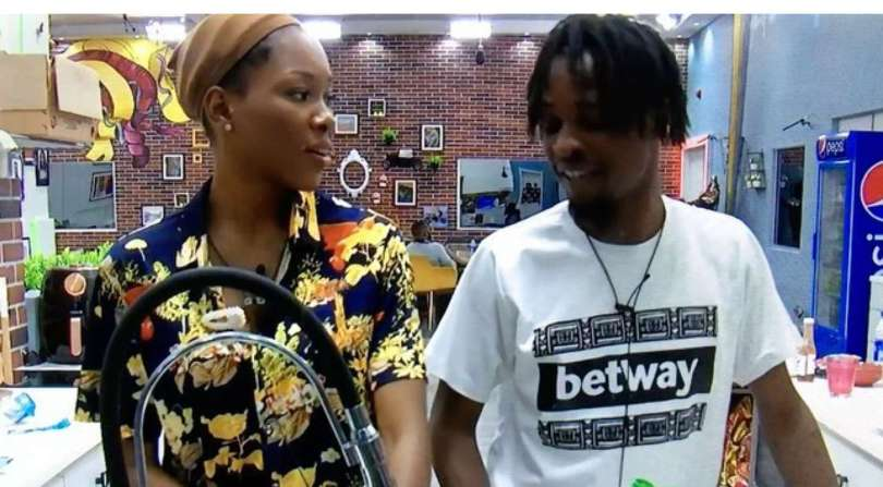 BBNaija: Laycon and Vee gossip about Ozo and Nengi