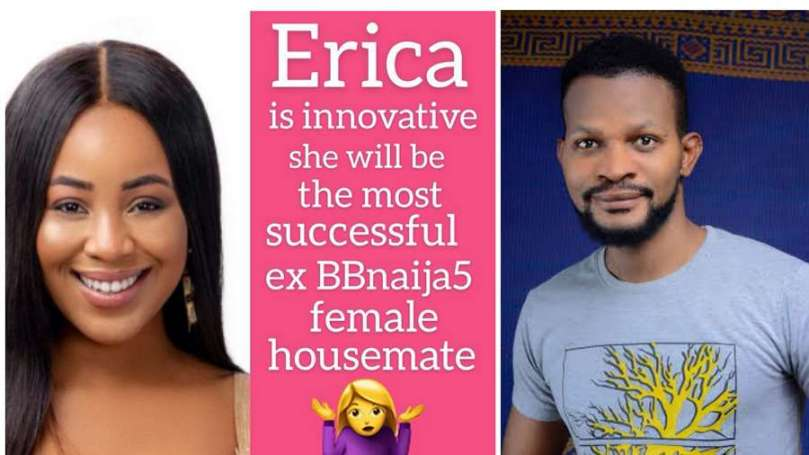 BBNaija: Why Erica is the most successful BBN Lockdown Housemate – Uche Maduagwu