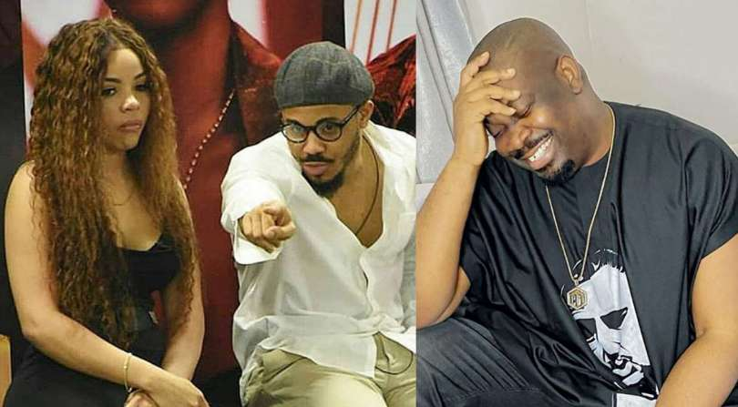 BBNaija: Don Jazzy mocks Ozo and Nengi's 'situationship'