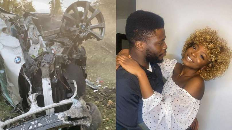 Comedian Craze Clown survives ghastly accident on his wife's birthday (video)