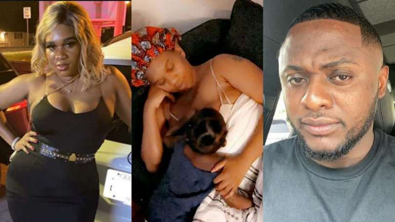 My daughter learnt excessive breast sucking from her dad – Ubi Franklin's 4th baby mama reveals