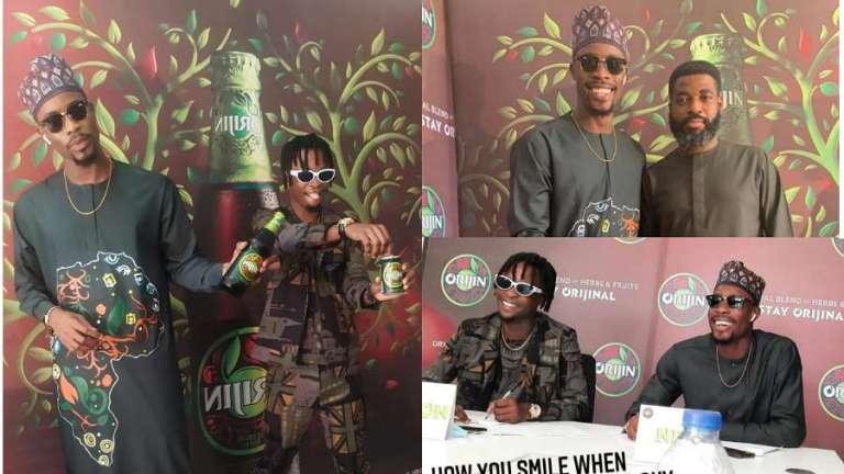 Orijin Nigeria unveils BBNaija stars Laycon, Neo as brand ambassadors
