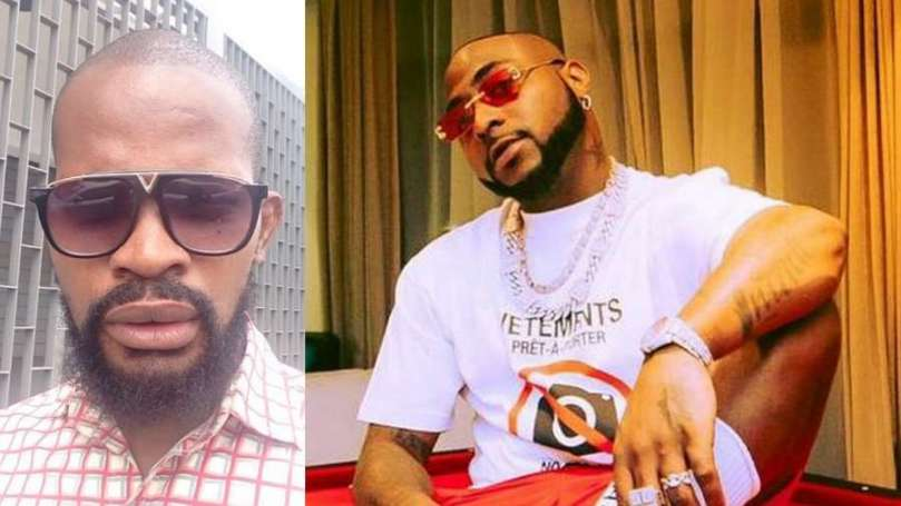 Here's why actor Uche Maduagwu isn't happy after Davido declared himself biggest Nigerian artiste