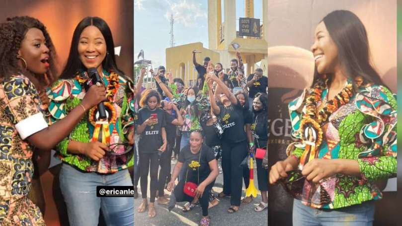 'Where is the knuckle?' – BBNaija Erica's fans ask haters who accused her of having dark knuckle (video)