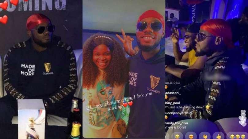 'Where is Dorathy?' – Enugu fans ask Prince at 'Nwa Ka Ibe Ya Homecoming' event (video)