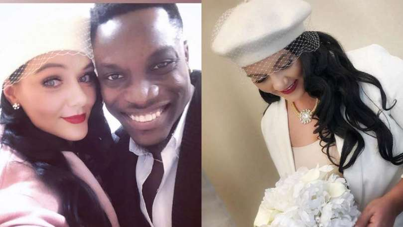 BBNaija star Bassey and wife, Nadia turn one year as couple