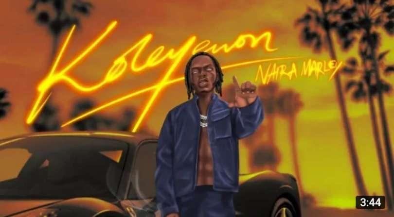 Download Instrumental Naira Marley – Koleyewon (Reprod by Big Frozz)