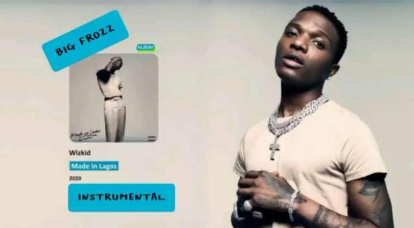 Download Instrumental Wizkid – True Love ft. Tay Iwar, Projexx (Reprod by Big Frozz)