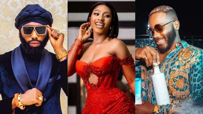 BBNaija's Kiddwaya, Mercy Eke and her stylist Swanky Jerry smash Peace Legend Awards 2020