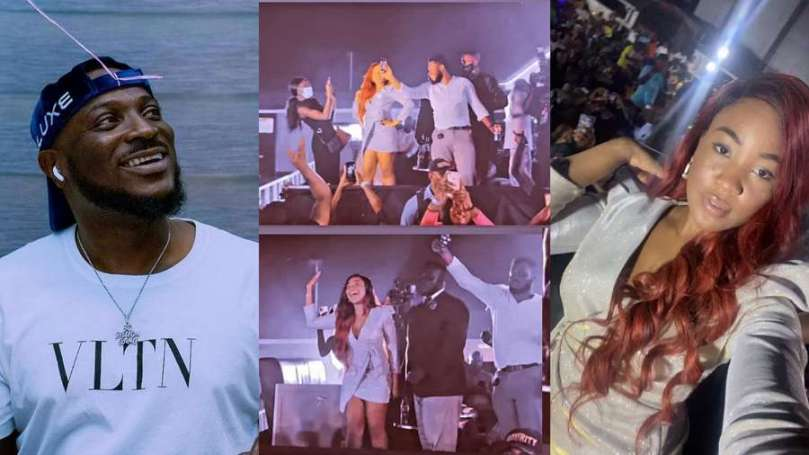 After performing at BBNaija Erica's homecoming, singer Peruzzi confirms Elites as best fanbase