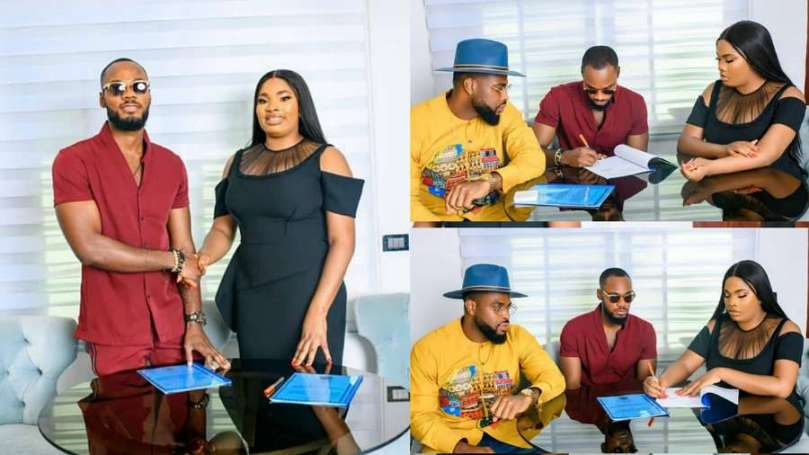 BBNaija star Prince inks new deal with fitness brand