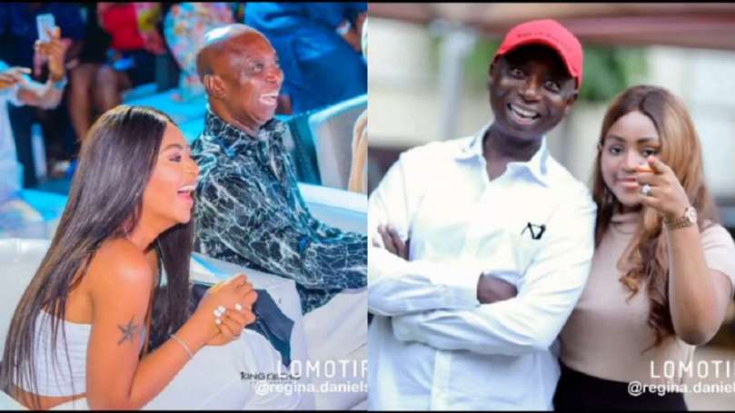'You're similar to King Solomon' – Regina Daniels tells husband Ned Nwoko on his birthday