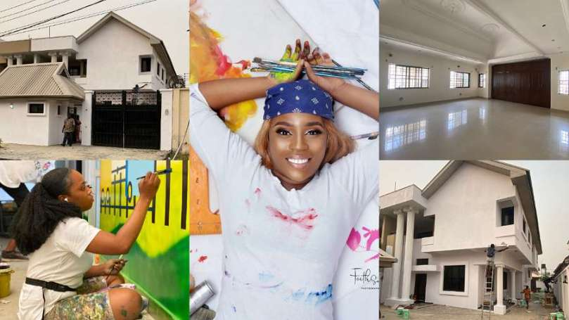 How I worked harder to build my art house after applying for BBNaija 3 times – Mural artist Cera Cerni