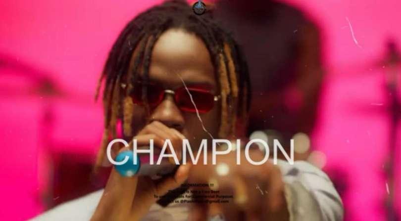 Download Instrumental Fireboy DML – Champion ft. D Smoke (Reprod. By Pizole Beats)